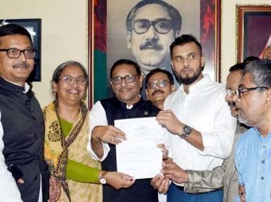 Mashrafe gets Awami League nomination