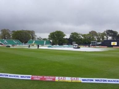 Rains abandons Bangladesh match