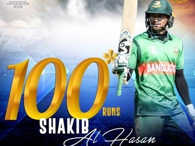 Shakib Al Hasan, Liton Das play memorable knocks as Bangladesh beat West Indies by 7 wickets in World Cup clash