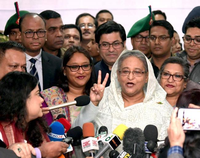 Prime Minister Sheikh Hasina invites medal winner to Ganobhaban