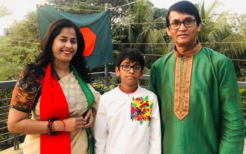 Actor Azizul Hakim, wife and son test Covid-19 positive