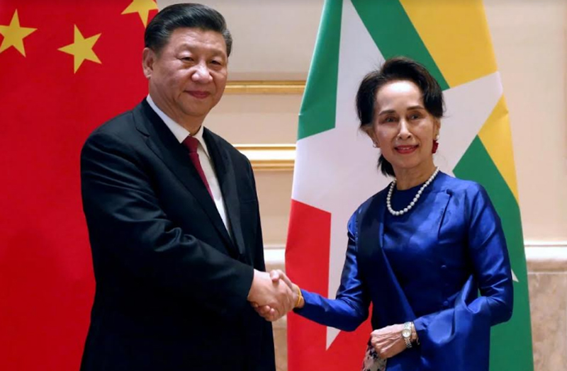Xi Jinping visiting Myanmar, real face of China unveiled