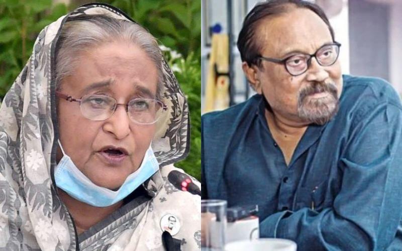 PM Hasina condoles the death of legendary actor Aly Zaker