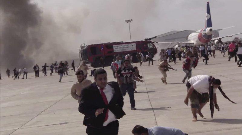 Yemen airport blast kills 22, at least 50 injured