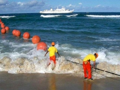 The third submarine cable will be installed at Cox's Bazar at a cost of Tk 693 crore