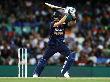 Kohli remains on top of the ICC Men's ODI rankings for batsmen