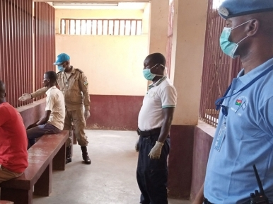 Take 'all appropriate public health measures' to protect detainees from coronavirus, UN urges