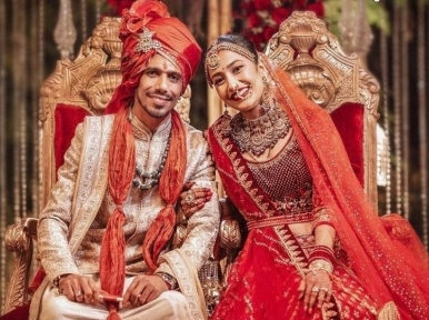 Indian cricketer Yuzvendra Chahal marries chereographer Dhanashree Verma