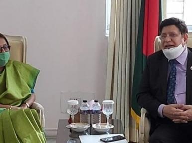 Bangladesh Foreign MinisterAK Abdul Momen expresses satisfaction over Indo-Bangladesh JCC meeting