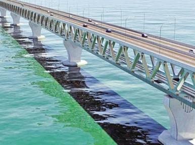 Last span installed; Padma Bridge to open in June 2022