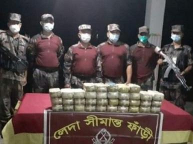 350,000 yaba pills worth Tk10.50 crore seized by BGB in Cox's Bazar