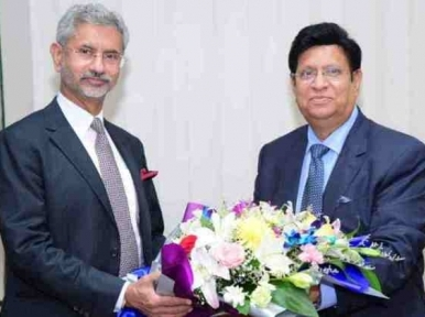 Indian Foreign Minister wishes Foreign Minister Momen a speedy recovery