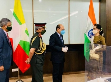 India calls on Myanmar to discuss Rohingya issue