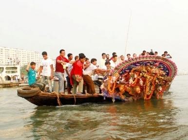 Hindu community observe Bijoya Dasami