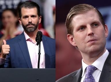 US Elections: Donald Trump's sons slam Republicans as he stares down the barrel