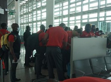 Zimbabwe team arrive in Pakistan to play series