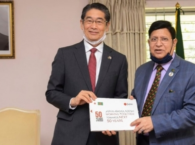 Dhaka urges strong support from Tokyo to resolve Rohingya crisis