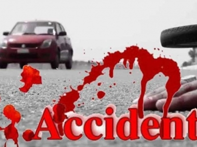 Two killed as three vehicles collide in Shaistaganj