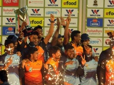 Cricket: Gemcon Khulna win Bangabandhu T20 Cup