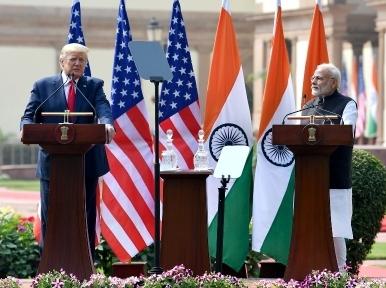 US President Donald Trump presents Indian PM Narendra Modi with 'Legion of Merit'