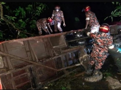 Groom among 20 injured in Pabna bus accident, bride unharmed