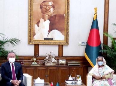 PM Hasina calls for Turkey's involvement in Rohingya repatriation