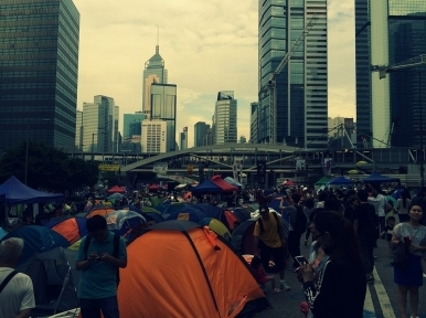 Hong Kong police bans major protest on security law, organizers say