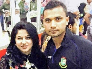 Mashrafe Mortaza's wife is now COVID-19 infected
