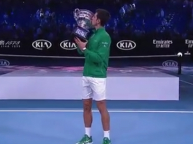 Novak Djokovic beats Dominic Thiem to grab Australian Open title