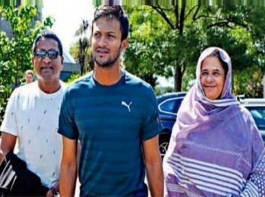 Cricketer Shakib Al Hasan's mother tests positive for Covid-19