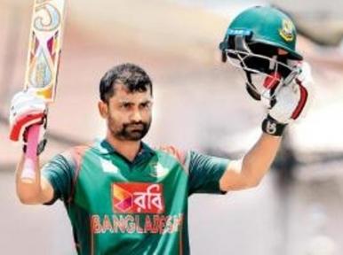 Tamim's innings helps Bangladesh