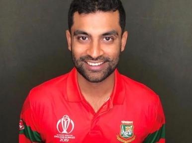 Cricketer Tamim Iqbal returns to Bangladesh following treatment in the UK