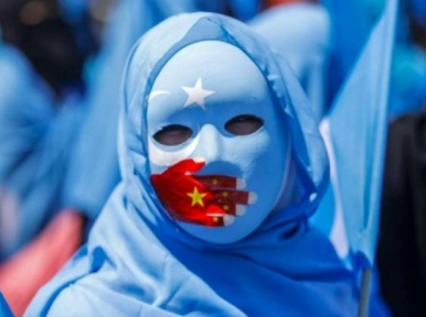 London: Tibetans and Uyghurs hold anti-China protest outside UN office