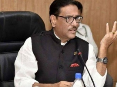 Awami League in power due to people's fondness: Obaidul Quader