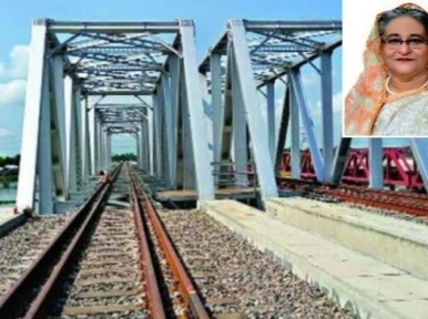 PM Hasina to lay foundation stone of Bangabandhu Railway Bridge on November 29