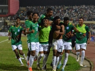 Football: Bangladesh beat Nepal after five years in FIFA friendly