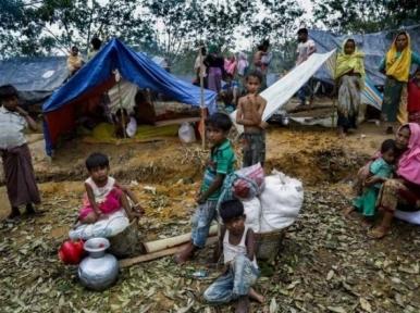 UK urges world not to turn its back on the plight of Rohingya community