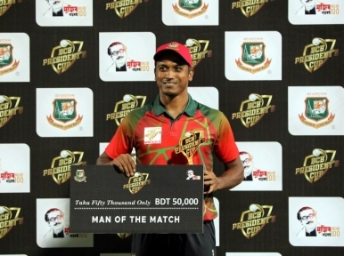 Mahmudullah XI register win against Tamim XI in second match of BCB President's Cup
