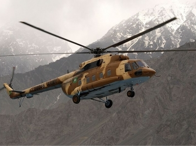 Four killed as Pakistani military helicopter crashes in Gilgit-Baltistan region: ISPR