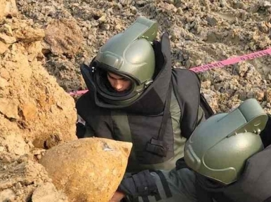 Fifth 250-kg wartime bomb found at Shahjalal Airport