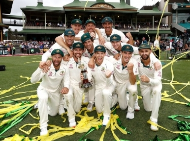 Australia advance to the top of men's Test ranking, replace India