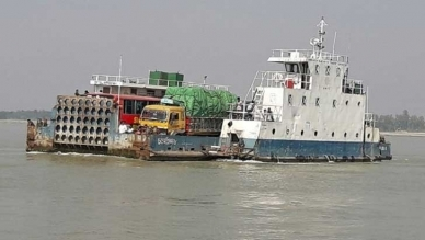 3 ferries were launched experimentally at Kanthalbari-Shimulia