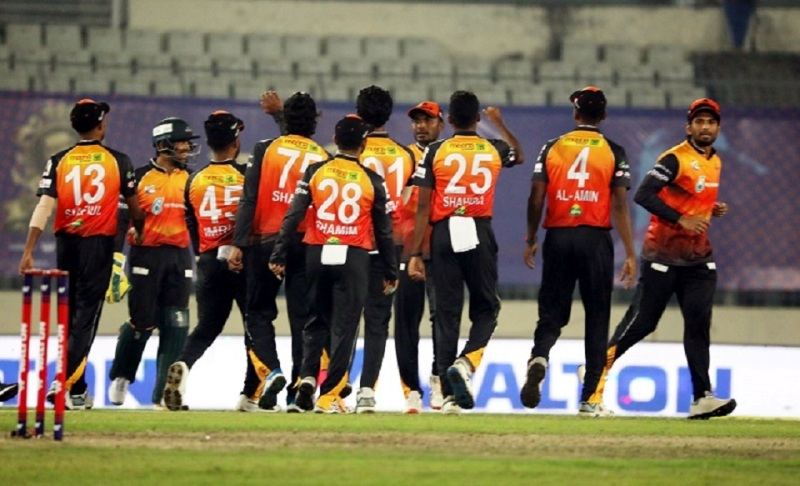 Cricket: Ariful's four sixes in the last over snatch win for Khulna