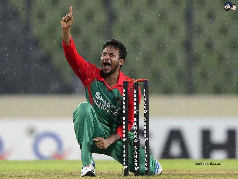 Bangladesh cricket star Shakib Al Hasan in ICC ODI XI team of decade