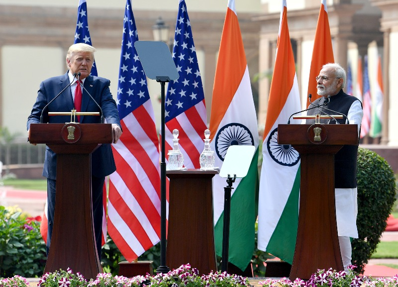 US President Donald Trump presents Indian PM Narendra Modi with 'Legion of Merit'