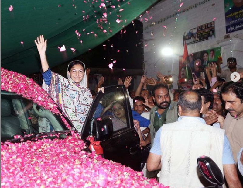 Benazir Bhutto's daughter Aseefa to address Multan rally