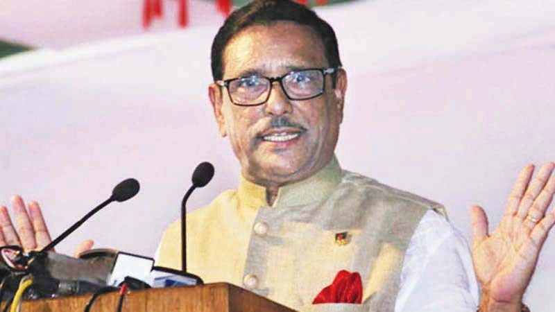 No need of creating interim issue in the name of interim parliamentary elections: Quader