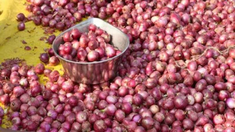 LC for 37,506 metric tons of onion in one day