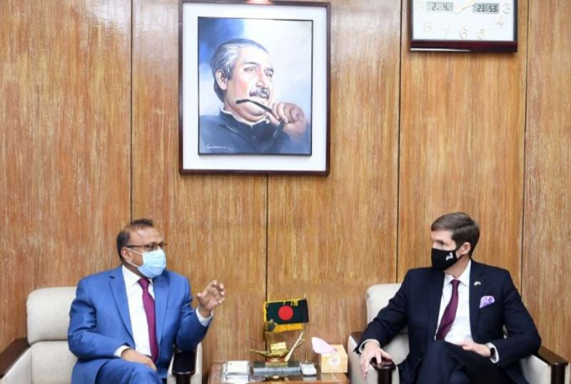 The United States stands by Bangladesh on the Rohingya issue: Ambassador