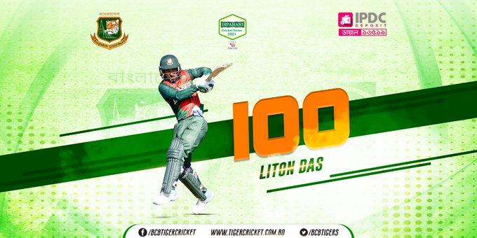 Liton ensures Bangladesh thumping victory against Bangladesh